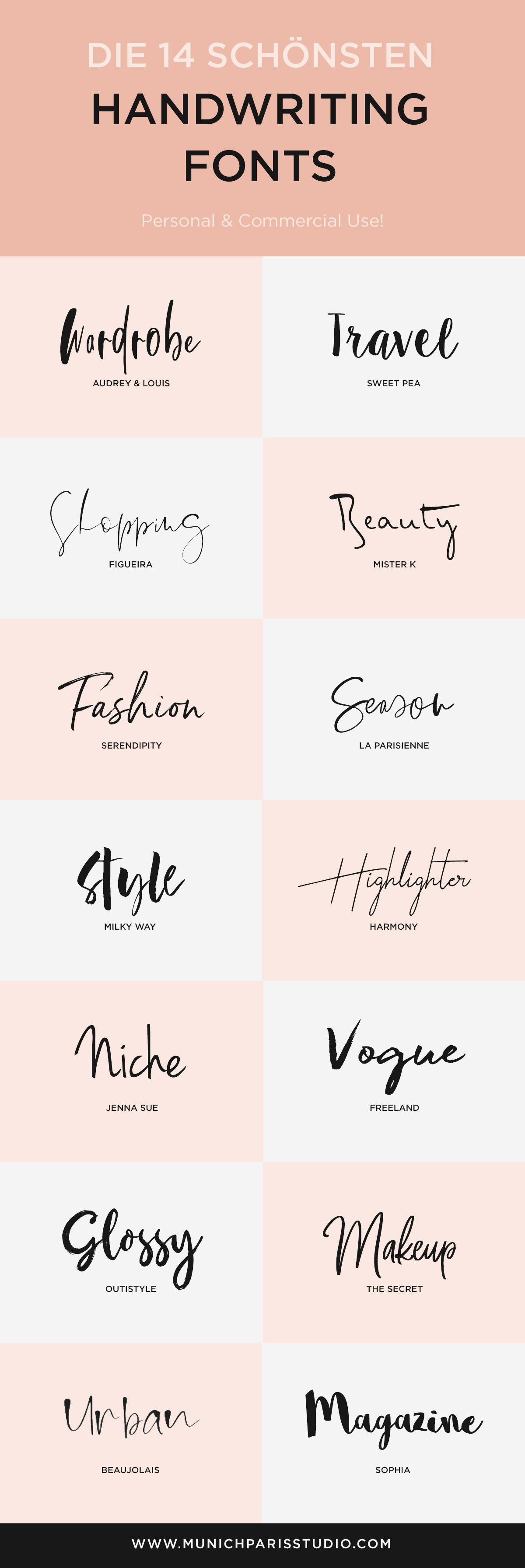 wunderschöne handschriften fonts zum kostenlosen download für logo design branding hochzeit einladungen karten kalligraphie