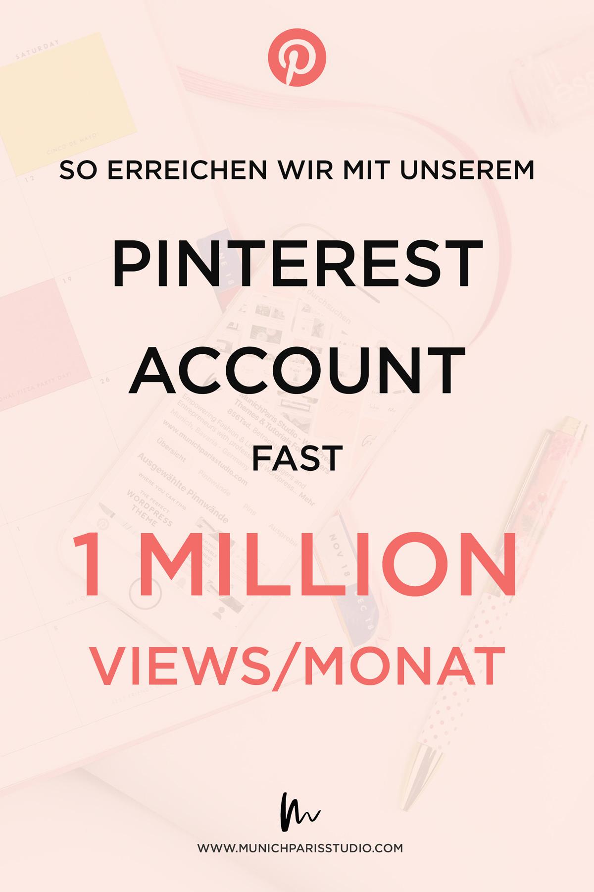 Pinterest Marketing für Blog und dein Unternehmen - So findest du die richtige Pinterest Stragie als Online Business - Unsere Erfolsgeschichte