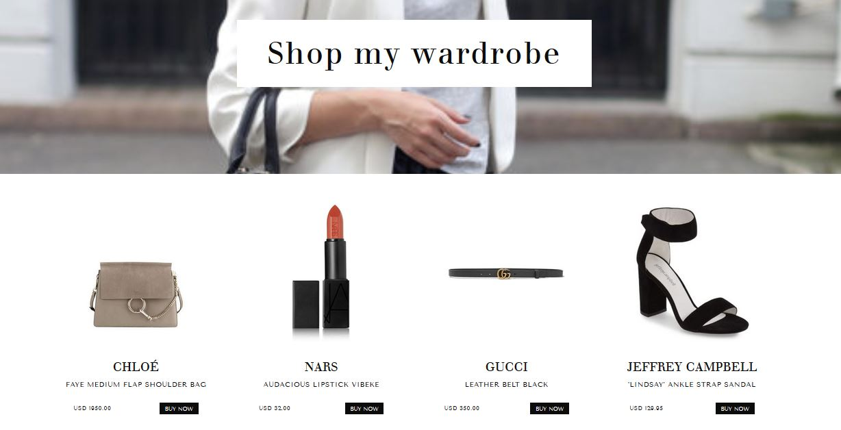 Create a Shopstyle Shop the Post Widget with this easy to install WordPress Theme for Fashion Bloggers