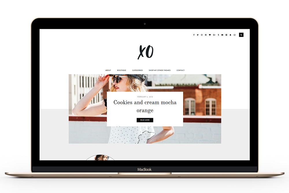 A simple Magazine WordPress Theme with free space for you branding